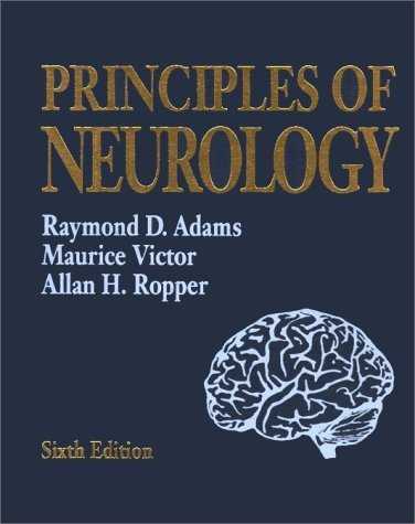 Adam's & Victor's Principles of Neurology 6th Edition by Adams, Raymond D., Victor, Maurice, Ropper, Allan H. (1997) Hardcover
