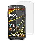 atFolix Schutzfolie kompatibel mit Samsung Galaxy S4 Active Displayschutzfolie, HD-Entspiegelung FX Folie (3X)