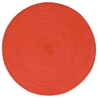 SET DE TABLE ROND TRESSER-14 COULEURS DIFFERENTES - TOP VENTE TOCADIS - ROUGE