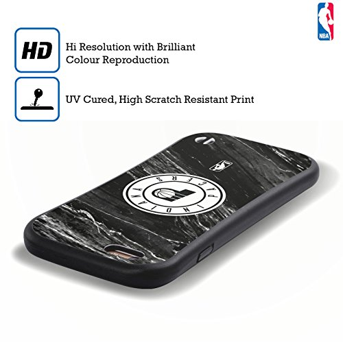 Ufficiale NBA Righe Indiana Pacers Case Ibrida per Apple iPhone 7 Plus / 8 Plus Marmo B&N