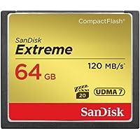 SanDisk Extreme 64GB CompactFlash UDMA7 Speicherkarte bis zu 120MB/s lesen