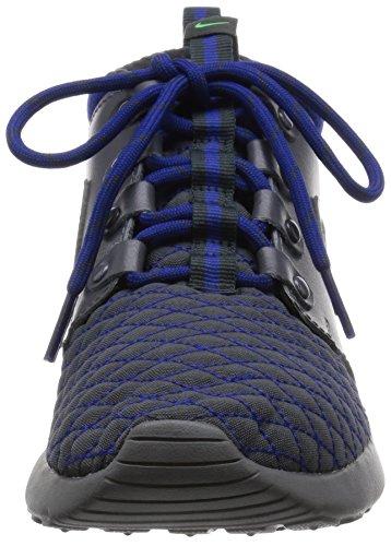 Nike Roshe One Mid Winter Gs, Scarpe da Corsa Bambino Gris / Azul (Drk Gry / Drk Gry-Dp Ryl Bl-Anth)