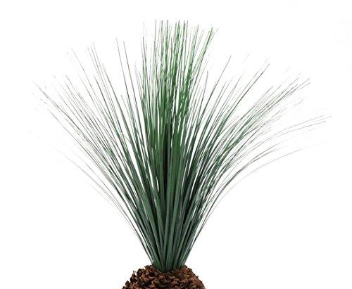 Graspalme künstlich, mit Knollenstamm, 90cm – künstliche Palmen, Dekopalme