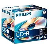 Philips CD-R Rohlinge 80Min 700MB 52x 10er Jewel Case
