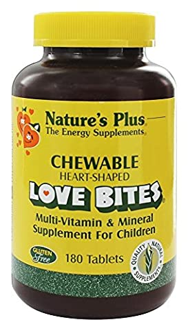 Love Bites Multi-Vitamin & Mineral, Supplement For Children, 180 Chewable