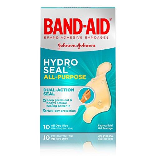 Pflaster Marke Hydro Dichtung Wasserfester All Purpose Kleber Bandagen für Wundversorgung oder Blasen, 10ct
