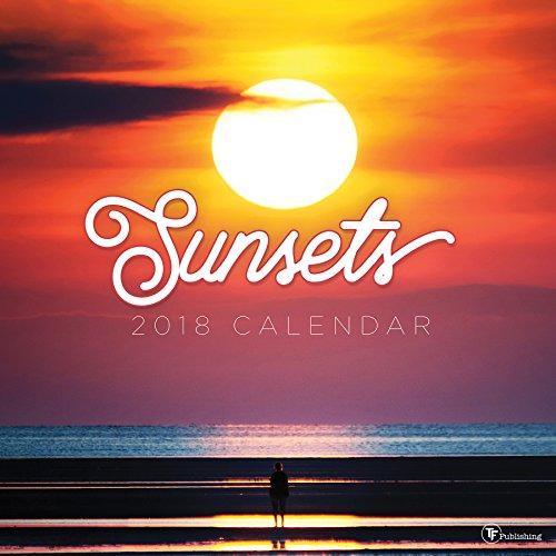 Sunsets 2018 Calendar