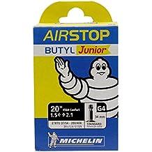 Michelin AIRSTOP BTT JUNIOR - Camara de bicicleta 37/54-390/406 Standard 34 mm