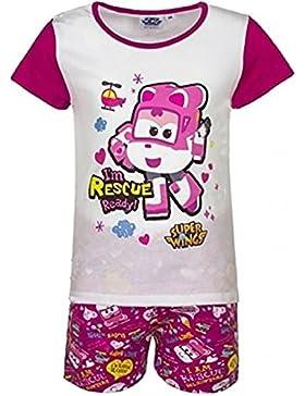 Super Wings pijamas dos piezas algodon niñas
