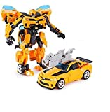 Happy GiftMart Robot to Car Converting Transformer Bumblebee