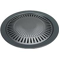 Butsir Plancha para cocinas portátiles, Negro, 39x33x33 cm, M-320