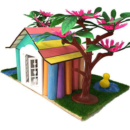 Miniaturhaus für Puppenhäuser, Construire Une Simulation en Trois Dimensions de Blocs de Bricolage Enfants Igloo assemblés manuellement Jouets Cadeaux Cadeau créatif pour Les garçons et Les Filles