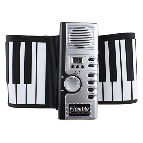 BrainyTrade AGPtek® 61 Keys Flexible Foldable Soft Portable Electric Digital Roll up Keyboard Piano