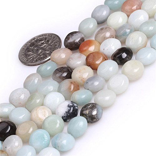 Sweet & happy girl's gemstone art beads perline in pietra amazzonite naturale da 8 mm per la creazione di gioielli, 8mm/mixed color, 8 mm
