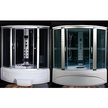 Box Doccia Con Vasca Multifunzione.Cabina Idromassaggio 90x90 Multifunzione Con Vasca E Box Doccia