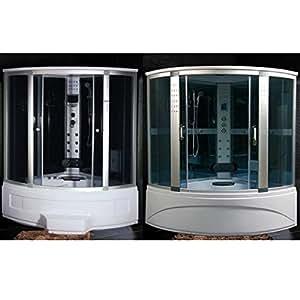 Cabina e vasca idromassaggio box doccia sauna cromoterapia - Box doccia fai da te ...