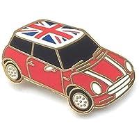 Mini Cooper con da bavero per il ricordo dei caduti - Union Jack motivo on tetto