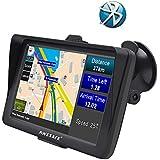 """GPS para Coche Pantalla de 7"""" Nüvi con Bluetooth Sat Nav Navigator para camión y automóvil con actualizaciones de mapas de por Vida"""