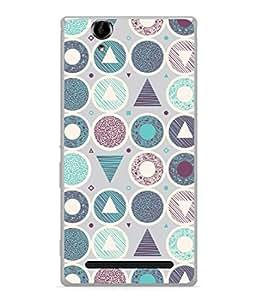 PrintVisa Designer Back Case Cover for Sony Xperia T2 Ultra :: Sony Xperia T2 Ultra Dual SIM D5322 :: Sony Xperia T2 Ultra XM50h (Love Lovely Attitude Men Man Manly)