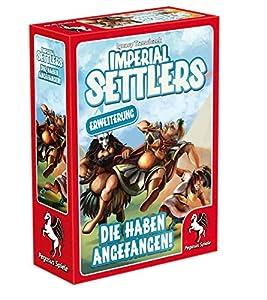 Pegasus Juegos 51967g no Imperial Settlers-tuvimos es No (Trabajo Pistas), Parte