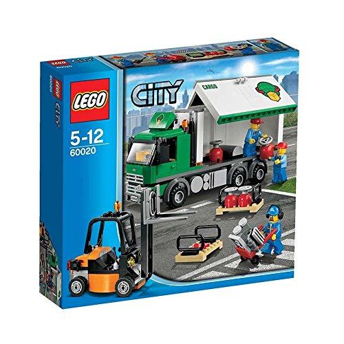 Preisvergleich Produktbild Lego City 60020 - LKW mit Gabelstapler