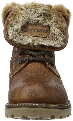 Remonte D7474, Bottes Rangers Femme Marron (Muskat/Chestnut/Steppe / 24)