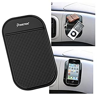 Insten Car Grip Pad Non Slip Sticky Anti Slide Dash Cell Phone Mount Holder Mat For Huawei Google Nexus 6P; LG Google Nexus 5X; Apple iPhone X / 8/8 Plus 7/7 Plus / 6S/ 6S Plus ; Galaxy S7 Edge/ S7