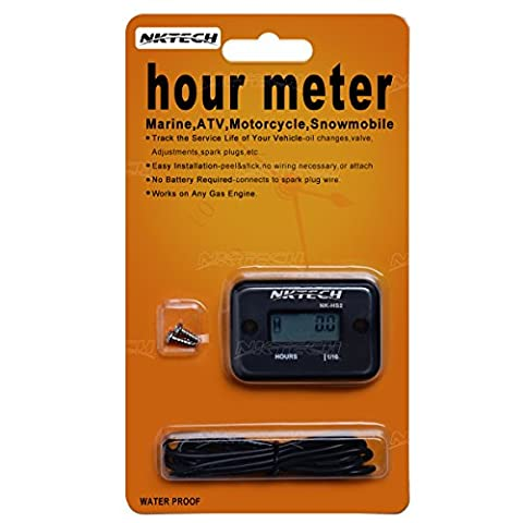 NKTECH NK-HS2 Inductive Hour Meter For Gas Engine Marine ATV