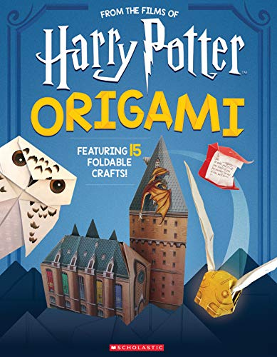 Harry Potter Origami: Fifteen Paper-Folding Projects Straight from the Wizarding World! (Harry Potter)