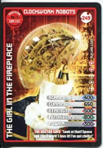 Doctor Who Monster Invasion Extreme Common Card #249 Clockwork Robots
