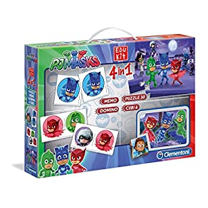 Clementoni EDUKIT 4 IN 1 - PJ MASKS - EDU