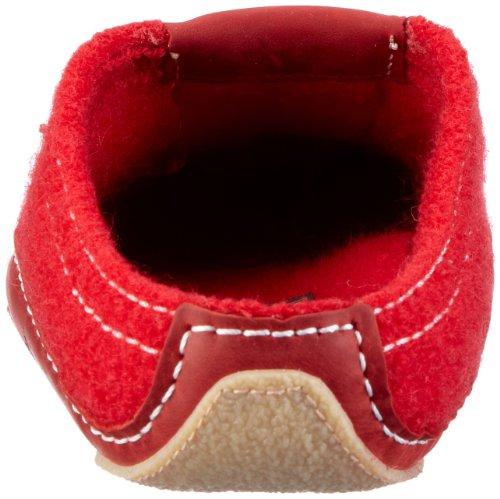 Haflinger Pocahontas 411001, Chaussons mixte adulte Rouge (Rouge-TR-F5-126)