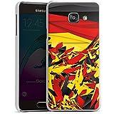 Samsung Galaxy A3 (2016) Housse Étui Protection Coque Allemagne Allemagne Drapeau