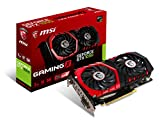 Scheda grafica MSI GeForce GTX 1050 per gaming, GDDR5 DirectX 12 VR Ready, Nero (Black/Red) 2 Gb