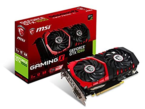 MSI Computer Video Graphic Cards GTX 1050 GAMING X