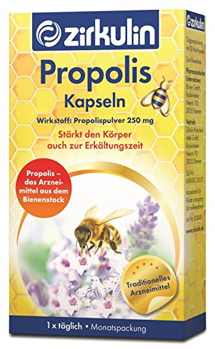 zirkulin Propolis Kapseln mit Vitamin C,30St