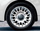 Original Fiat Winterkomplettradsatz Fiat 500 Bridgestone 9-Speichen Alu 15