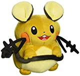 "Takara Tomy N-05de Pokemon X Y y dedenne 7""Peluche"