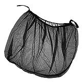 Sharplace Auto Sonnenschutz Vorhang Anti-Moskitonetz UV-Schutz Windschutzscheibe Sonnenschirm - Schwarz XL