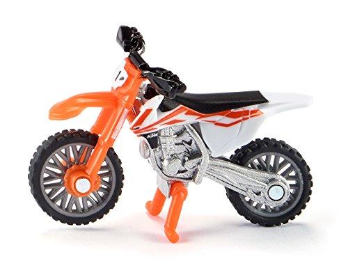 Siku-Vehículo en miniatura juguete KTM SX-F 450, 1391, Naranja