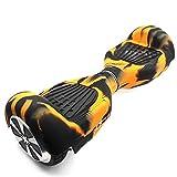 Fbsport Couverture Coque de Protection en Silicone pour 6.5 Scooter Balance Trottinette électrique 2 Roues Anti Choc Anti-dérapant Housse