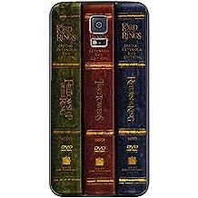 El Señor de los anillos Trilogy libros para iphone y Samsung Galaxy (Samsung s5 negro) funda