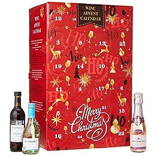 Wein und Sekt Adventskalender 24er Packung