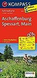 Aschaffenburg - Spessart - Main: Fahrradkarte. GPS-genau. 1:70000: Fietskaart 1:70 000 (KOMPASS-Fahrradkarten Deutschland, Band 3072) -