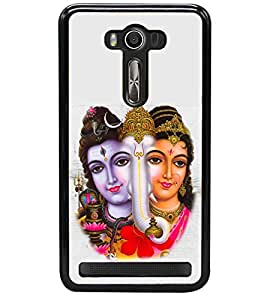 printtech Shiv family Back Case Cover for Asus Zenfone 2 Laser ZE550KL , Asus Zenfone 2 Laser ZE550KL (5.5 Inches)