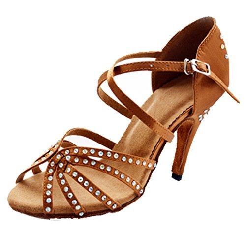 TDA - Peep-Toe donna 8.5cm Brown