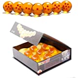 Dragon Ball, sfere del drago trasparenti da collezione, diametro 43,76 mm, arancione, 4.3