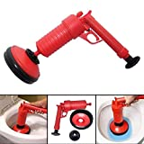 YLXD Rohrreiniger Druckluft,Pressluft-Rohrreiniger,Druckluft Rohrreiniger für Bad und Küche, Multifunktionale Reinigungspumpe verwendbar für Toilette, Badewanne, Dusche, Wanne