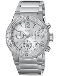 Esprit Collection Damen-Armbanduhr Anteress Silver Chronograph Quarz Edelstahl EL101282F07