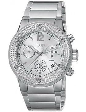 Esprit Collection Damen-Armbanduhr Anteress Silver Chronograph Quarz Edelstahl EL101282F07